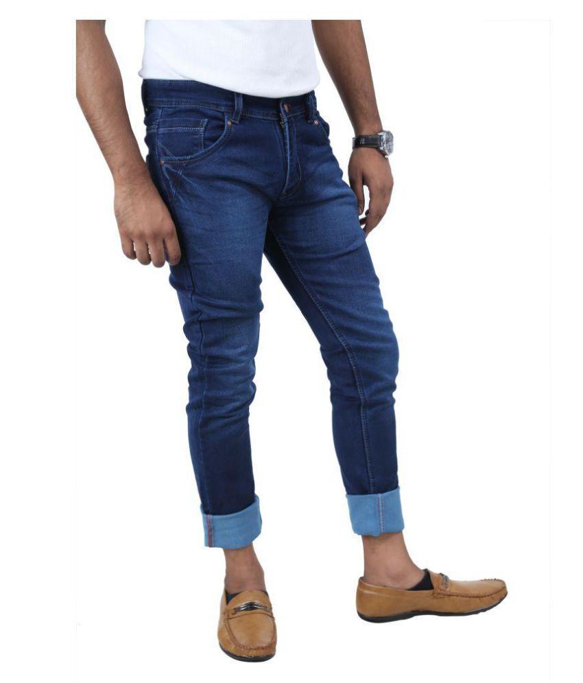 Inspire Next Dark Blue Slim Jeans