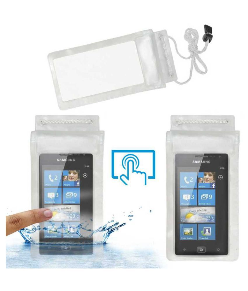 Samsung Omnia W Holster Cover by ACM - Transparent