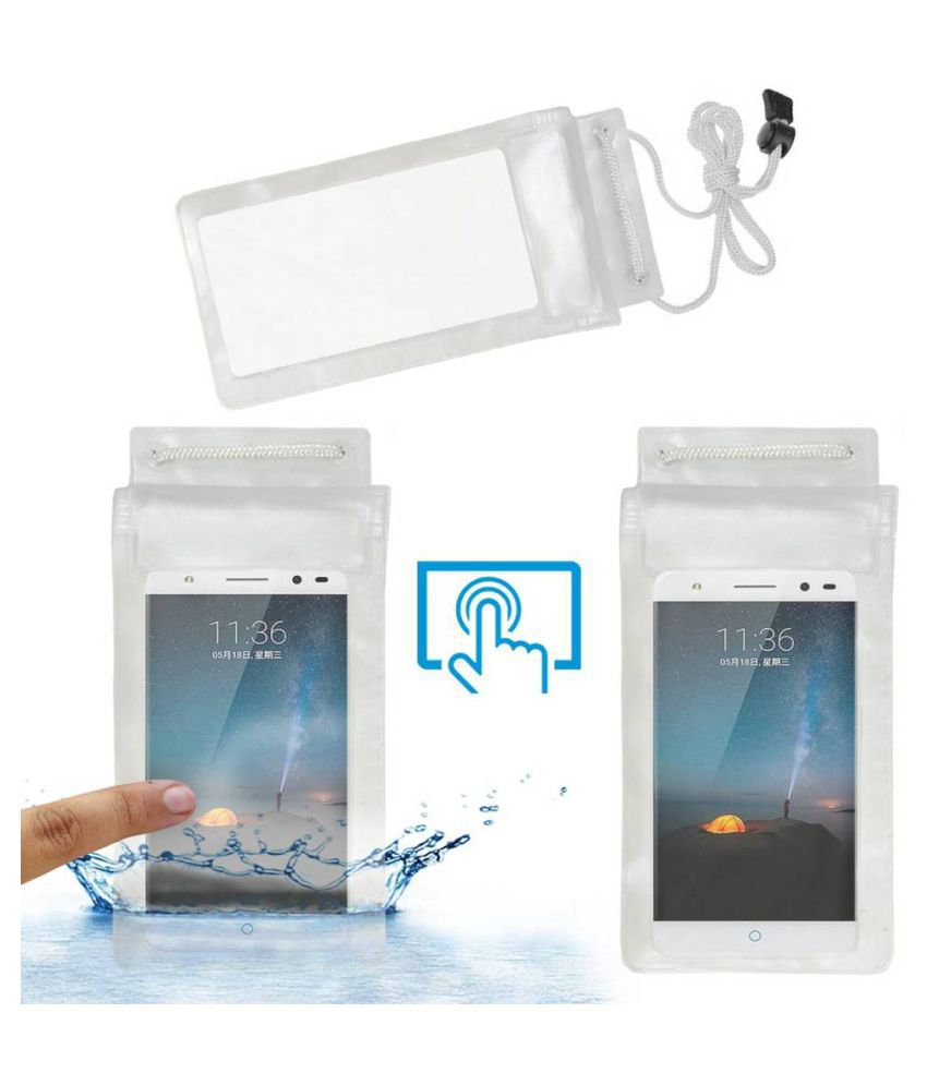 ZTE Blade A2 Plus Holster Cover by ACM - Transparent