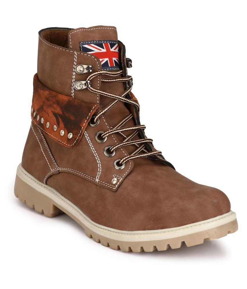 Eego Italy Brown Casual Boot