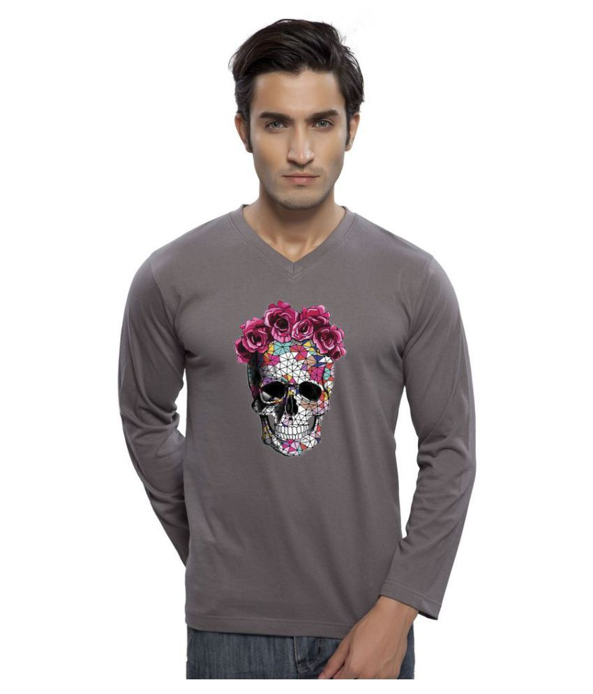 clifton Grey V-Neck T-Shirt