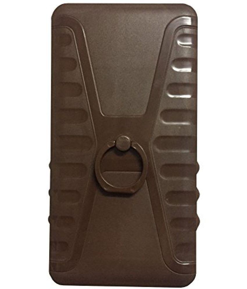 Intex Aqua Fish Plain Cases Aravstore - Brown