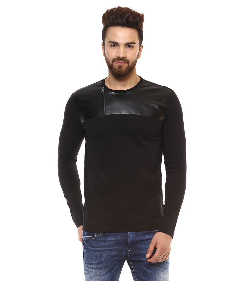 Mufti Black Round T-Shirt