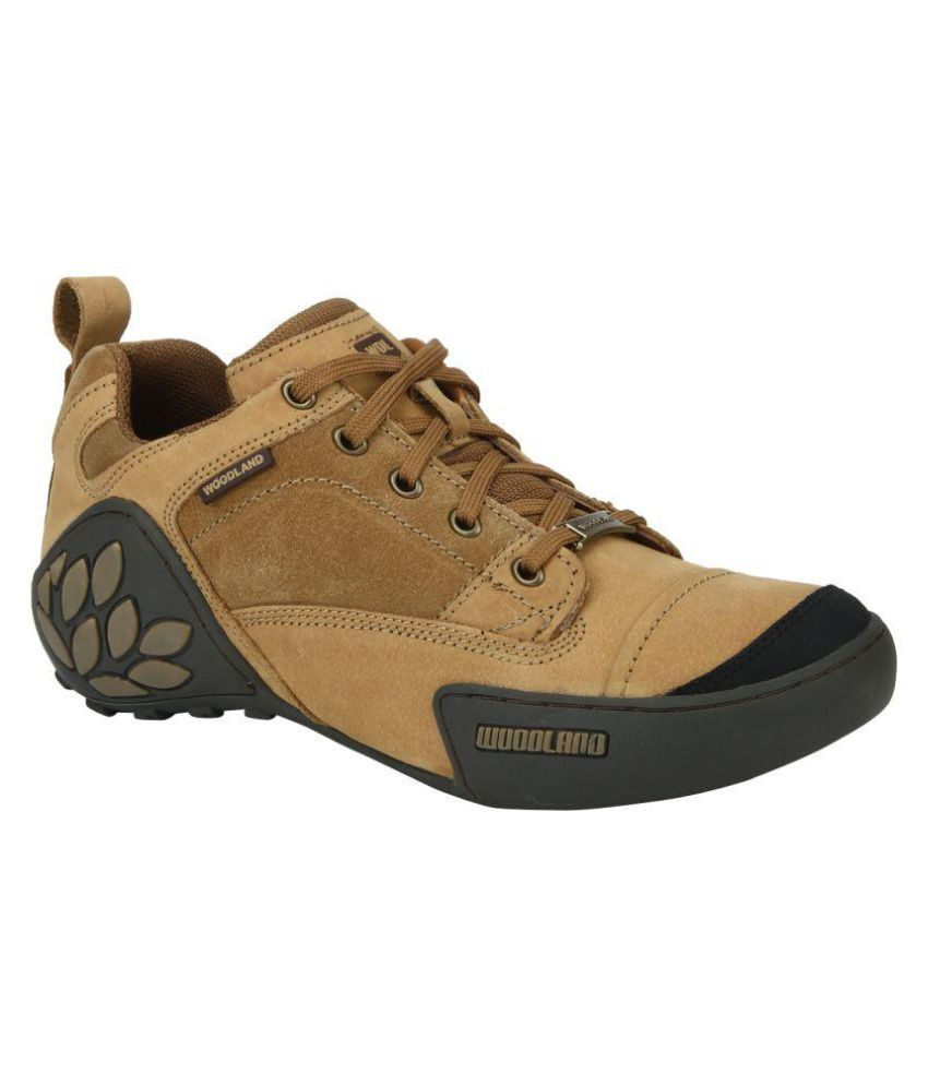 Woodland GC 1868115 CAMEL Outdoor Camel Casual Shoes ...