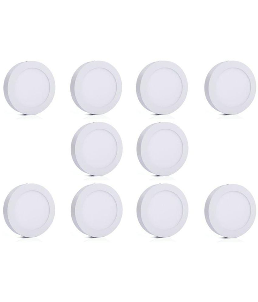 Bene 6W Round Ceiling Light 12 cms. - Pack of 10