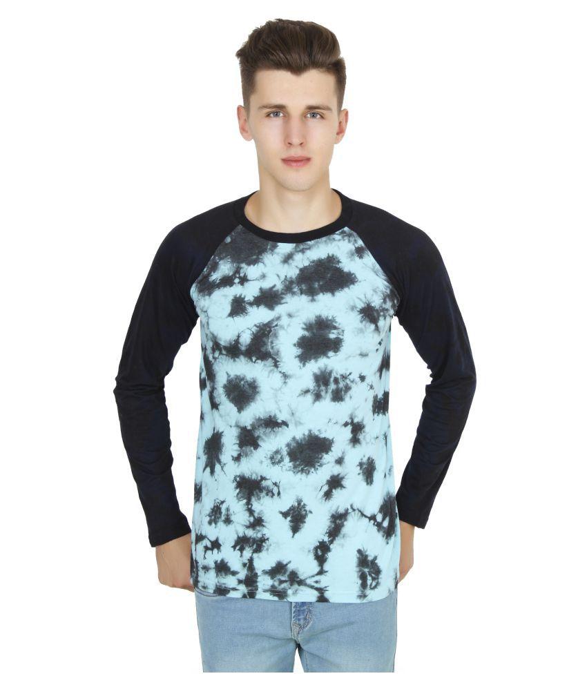 Five-Stones Navy Round T-Shirt
