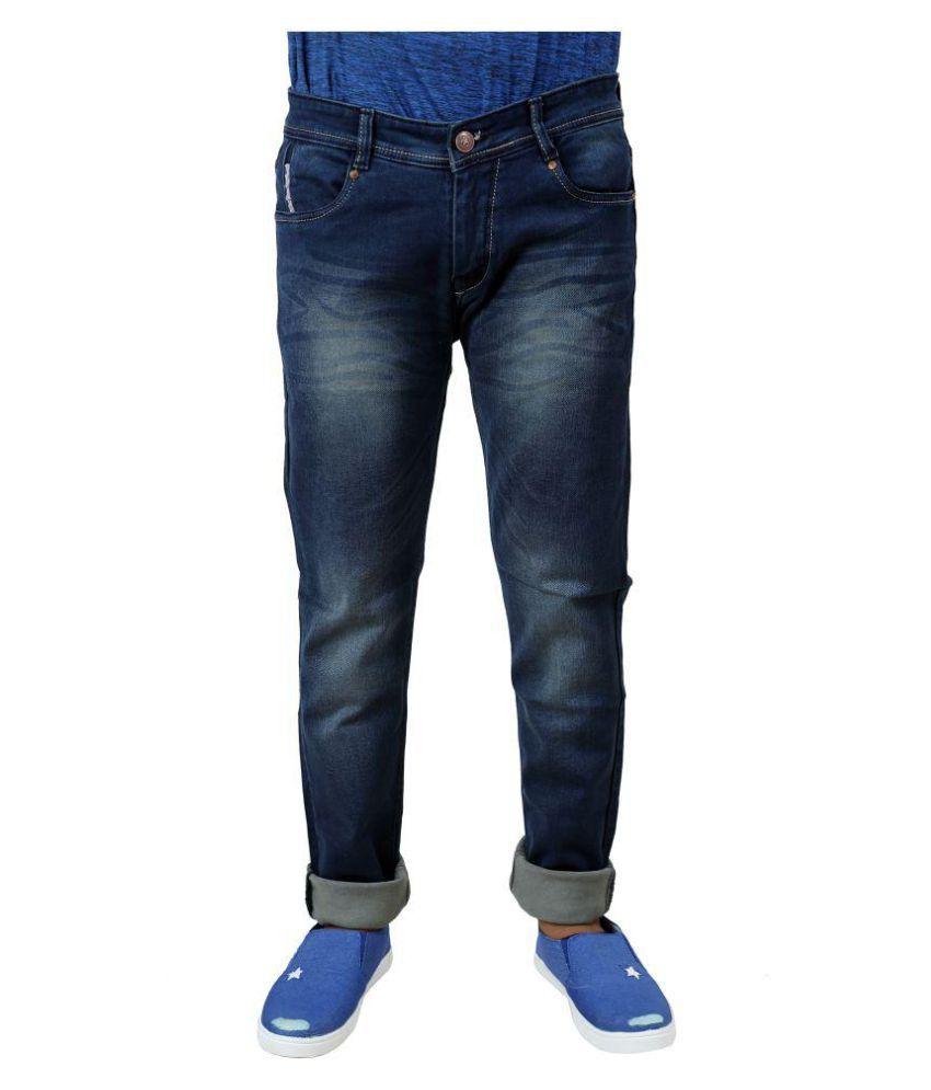 Inspire Next Blue Regular Fit Jeans