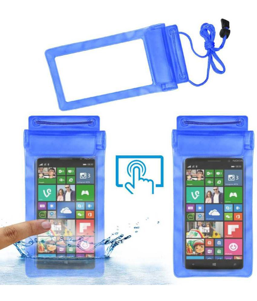 Microsoft Lumia 830 Holster Cover by ACM - Blue