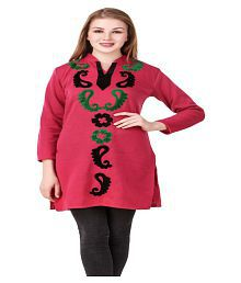 384bcc57025 Woolen Kurtis  Buy Woolen Kurtis Online at Best Prices in India on ...