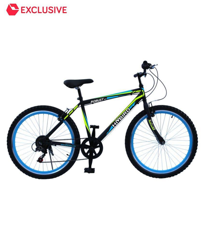 849b4d3e5a6 HI-BIRD Robust Black 26T 7 Gear Cycle Mountain Bike Adult Bicycle Adult  Bicycle/Man/Men/Women