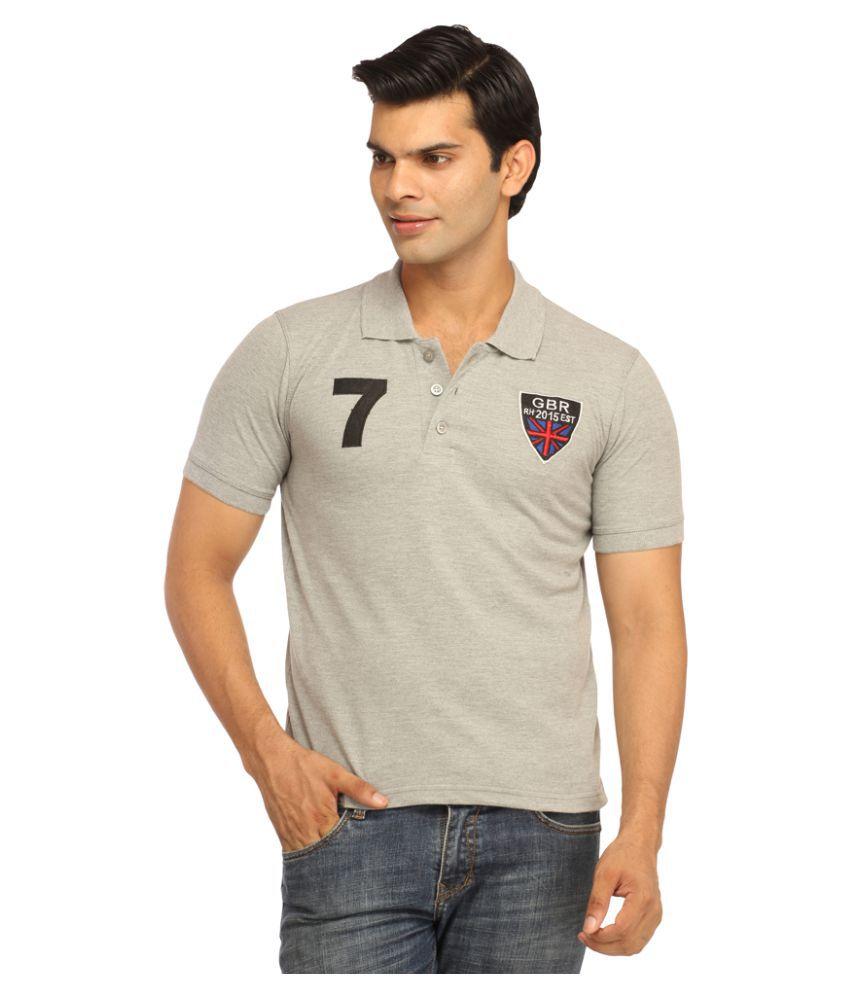 Rockhard Grey Round T-Shirt