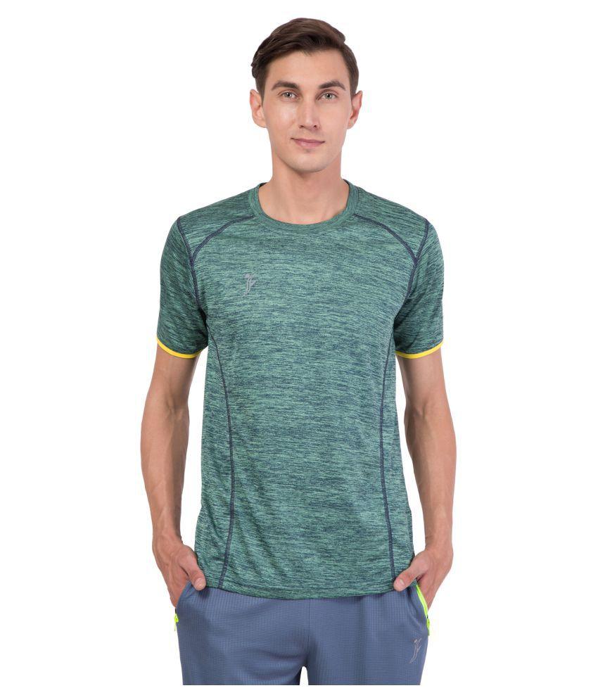 FINO Green Round T-Shirt