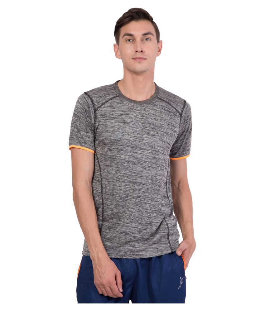 FINO Grey Round T-Shirt