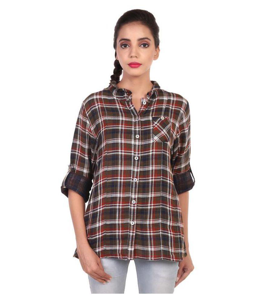 GOODWILL Multi Color Cotton Shirt