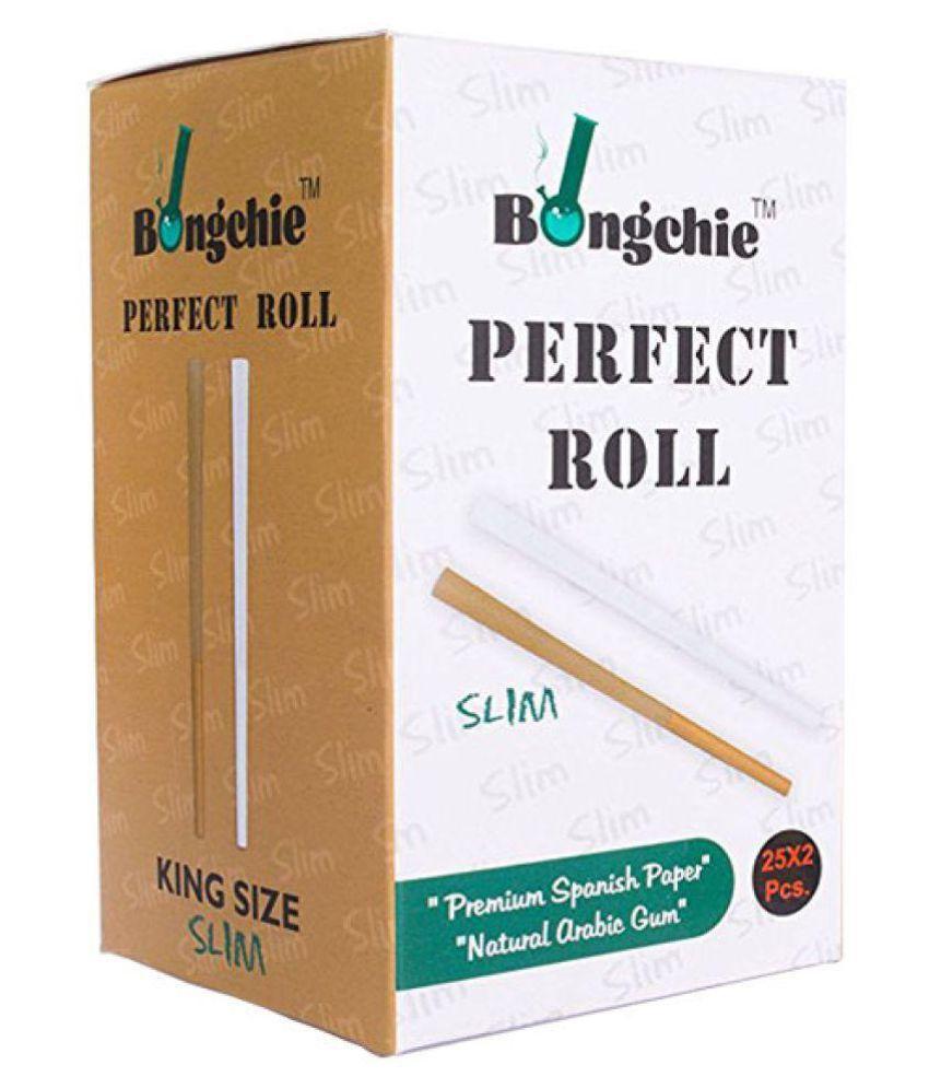 Bongchie/Perfect Roll Slim/Bleached/King Size Slim/Box of 50 Pcs