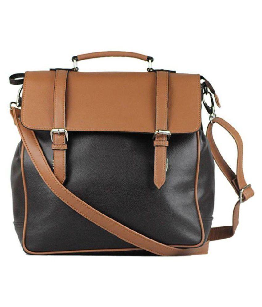 AFRE Multi Faux Leather Shoulder Bag