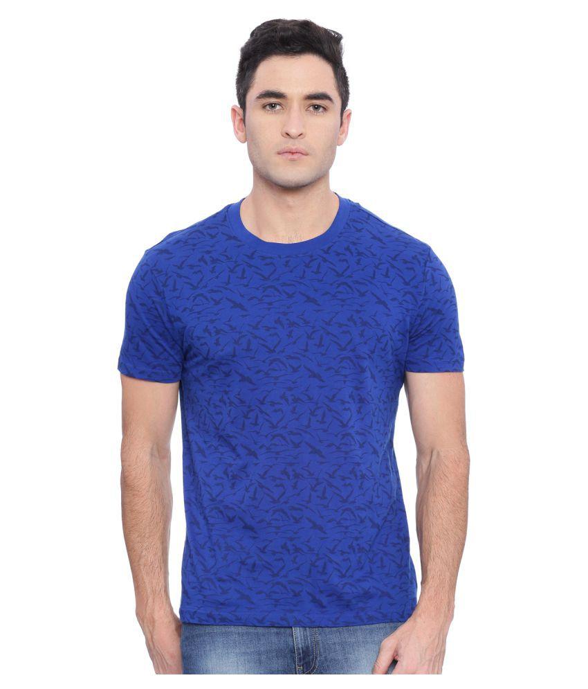 Wolfpack Blue Round T-Shirt