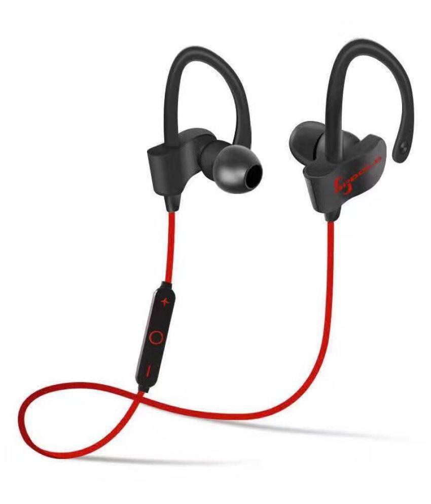JIKRA  Alcatel OT-585    Bluetooth Headset - Red
