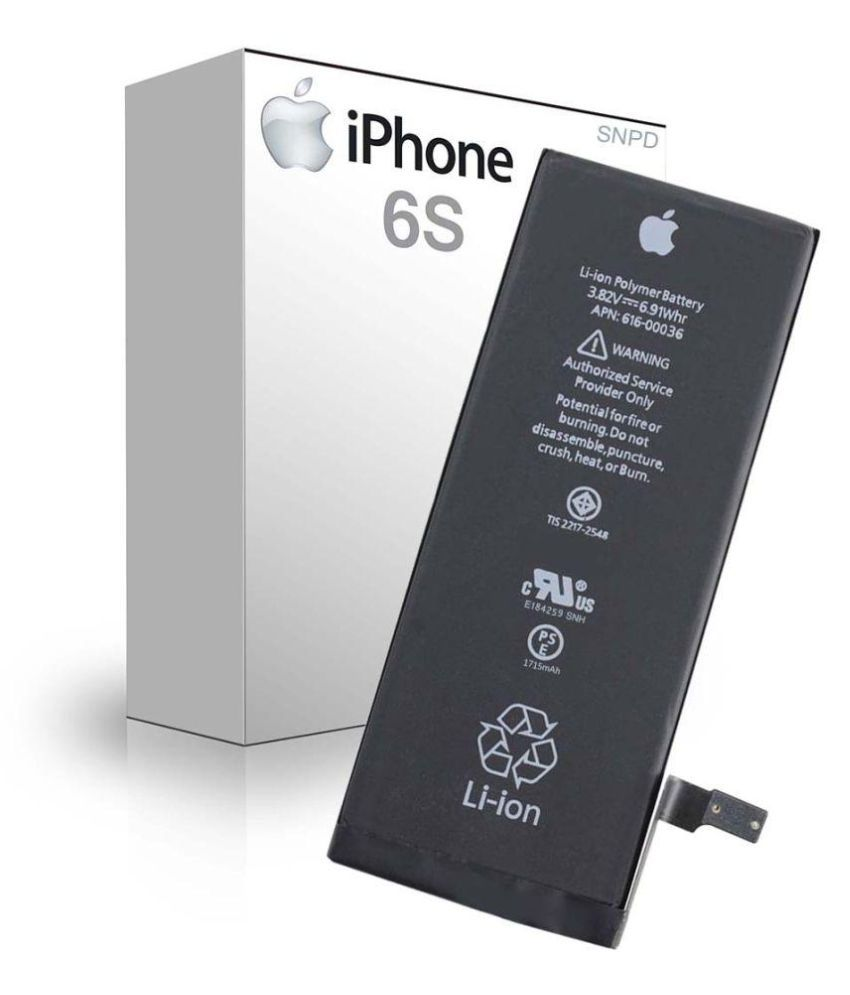cheap for discount 0f358 1a664 Apple iPhone 6S 1715 mAh Battery by SNPD