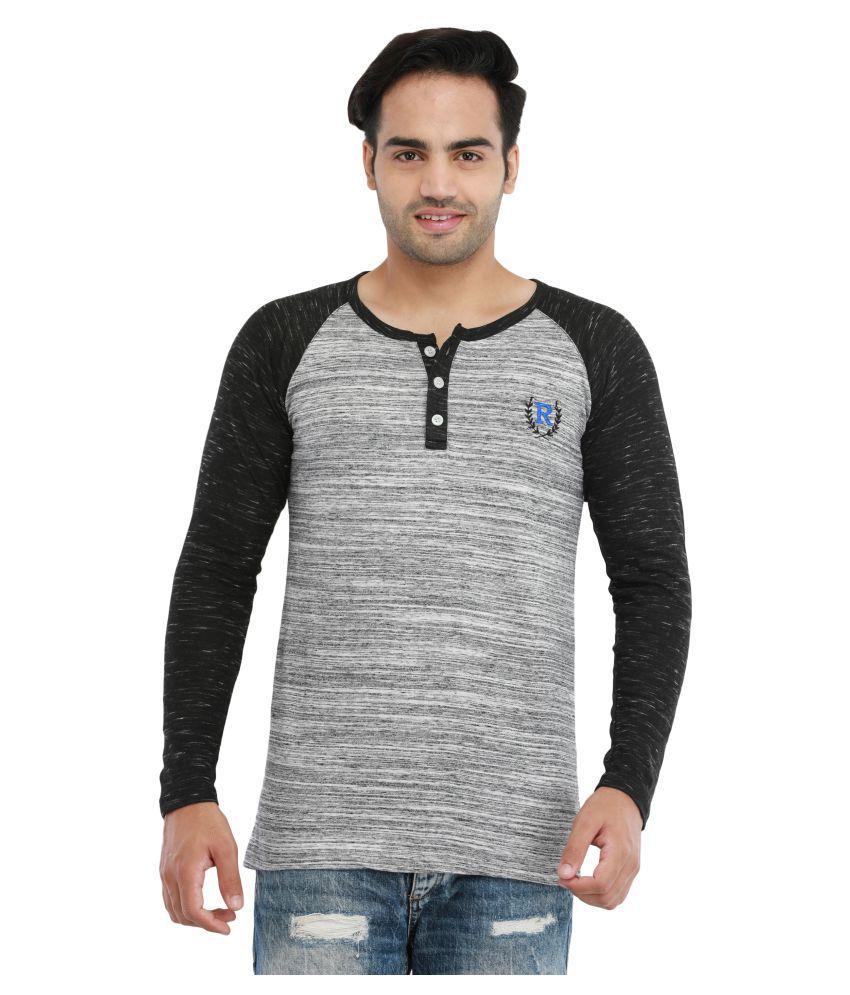 Rockhard Multi Henley T-Shirt