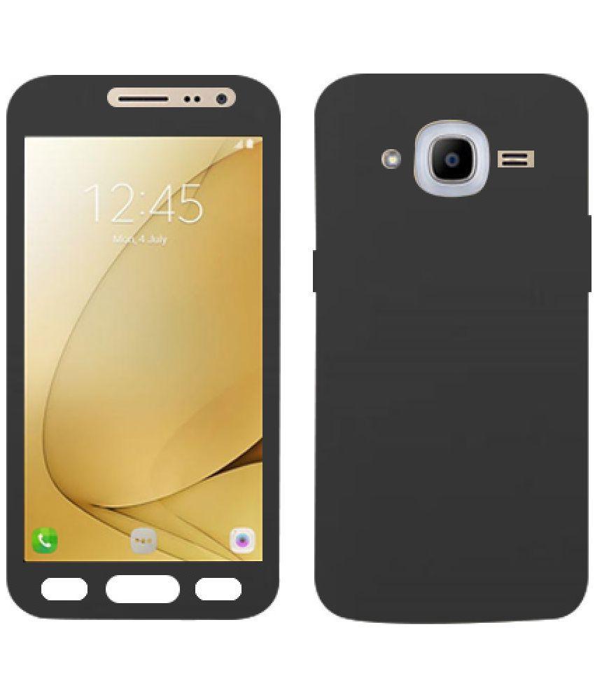 Samsung Galaxy J7 Nxt Plain Cases Doyen Creations - Black