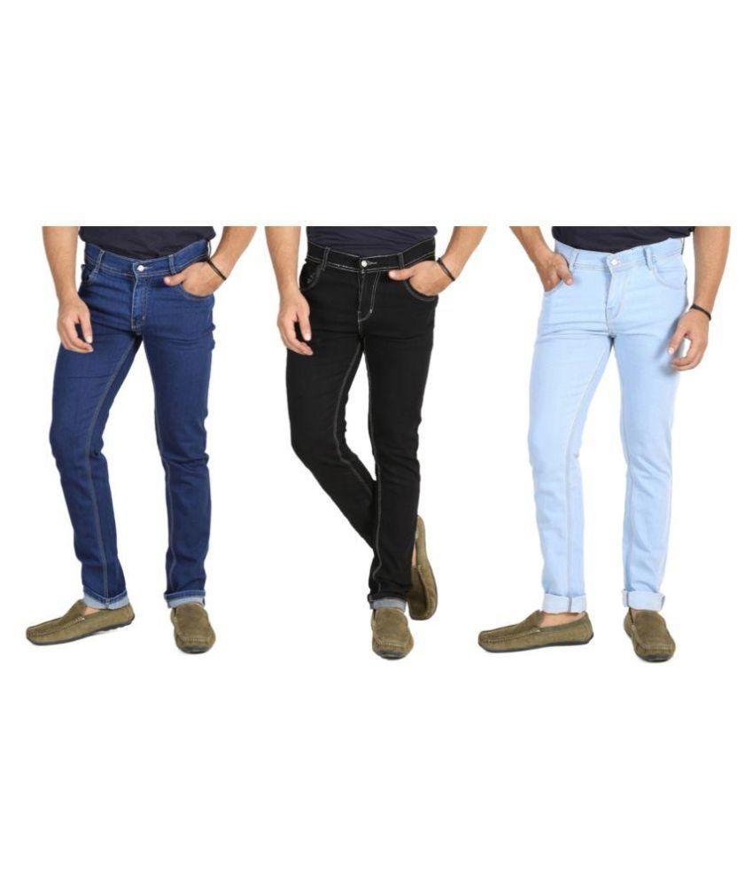 Begone Black Slim Jeans