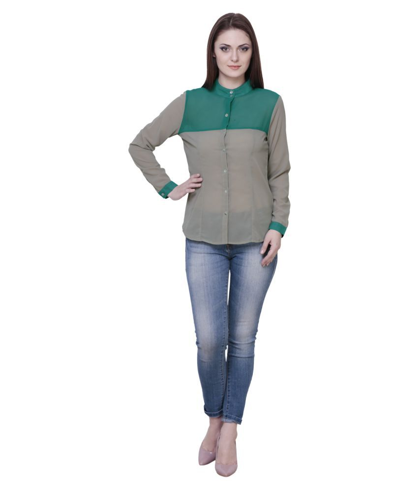 THE RUNNER Poly Georgette Shirt