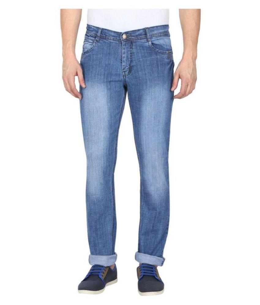 gradely Light Blue Slim Jeans