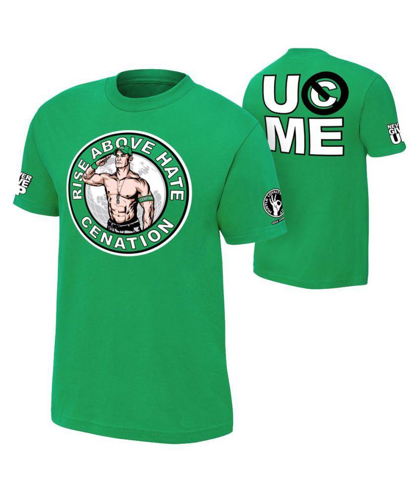 Brandsoon Green Round T-Shirt