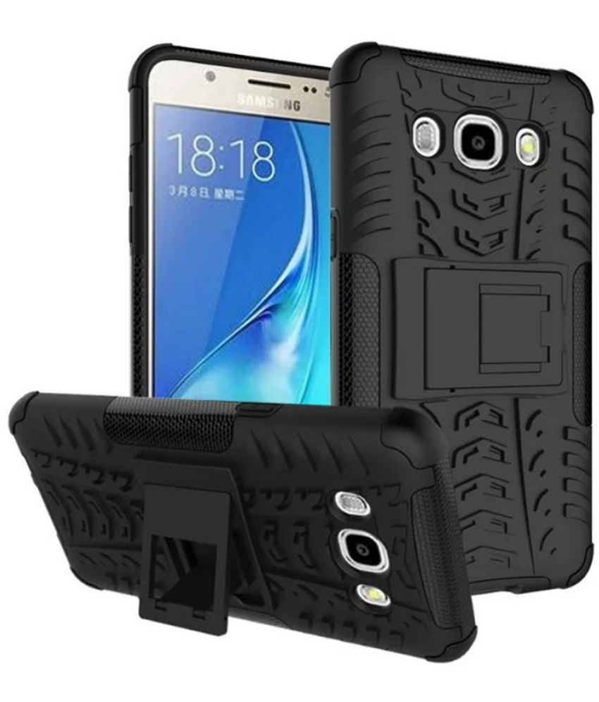 Samsung Galaxy J7 Nxt Cases with Stands Doyen Creations - Black