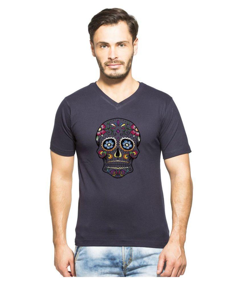 clifton Navy V-Neck T-Shirt