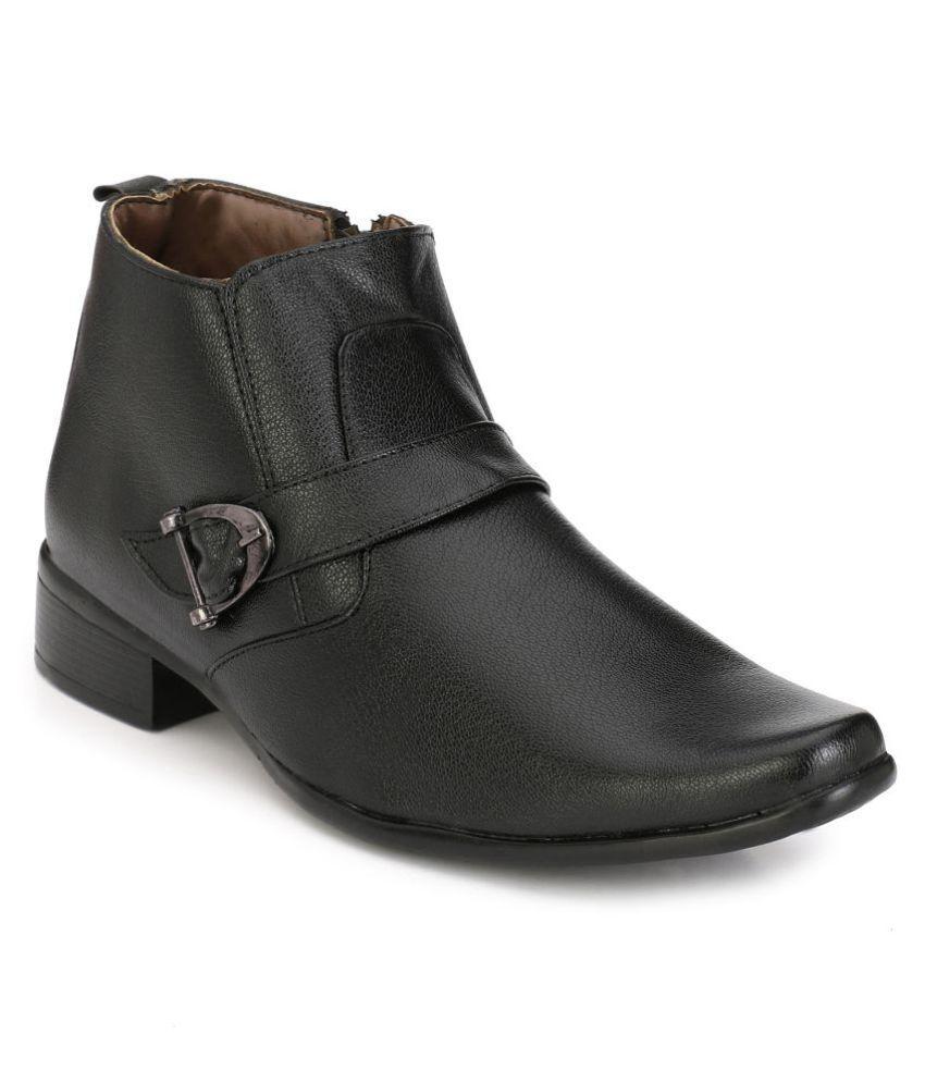 Eego Italy Black Formal Boot