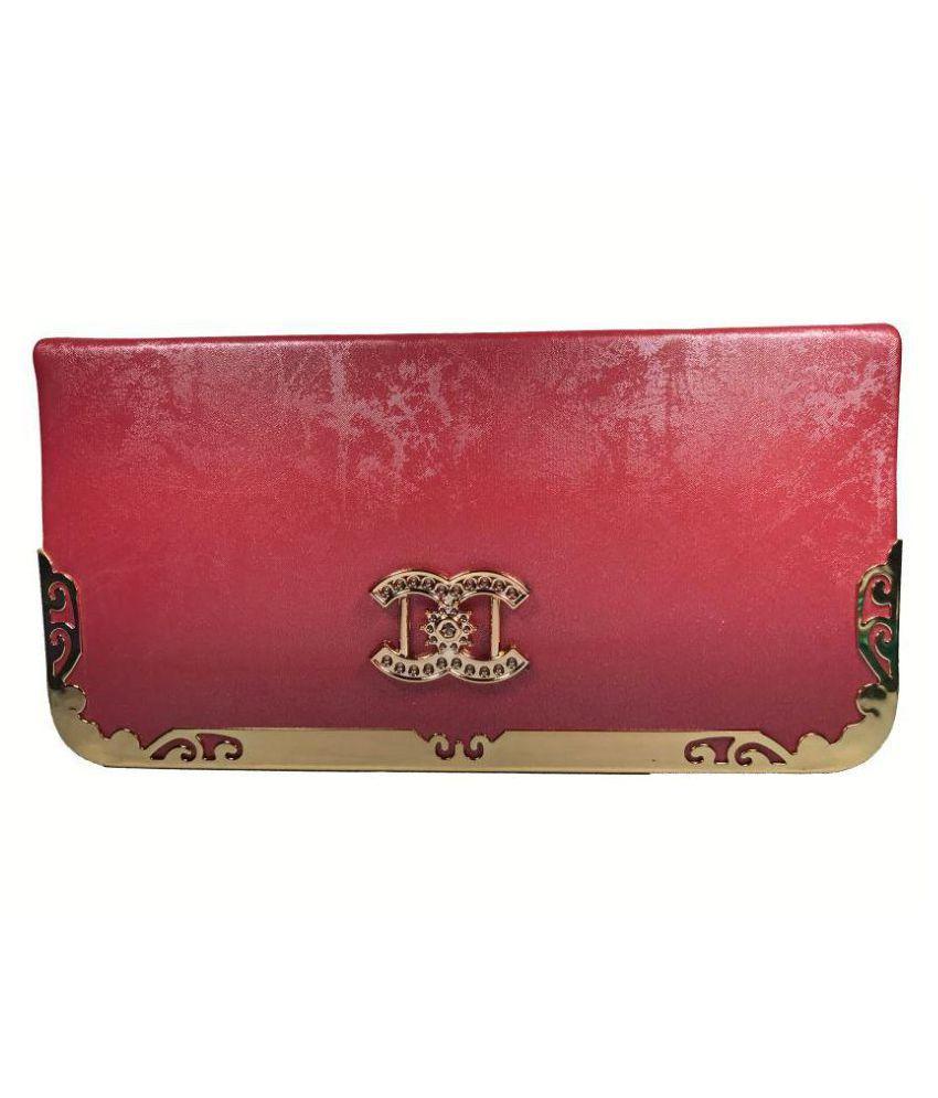 Bizarre Vogue Pink Wallet