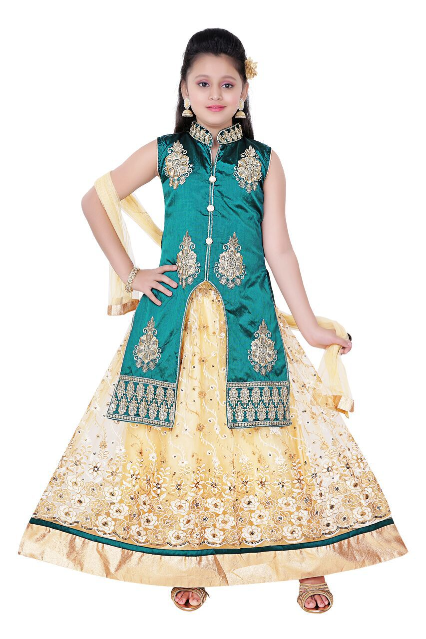 bff74e3995 Saarah Multicolor Net Lehenga Choli Set - Buy Saarah Multicolor Net Lehenga  Choli Set Online at Low Price - Snapdeal