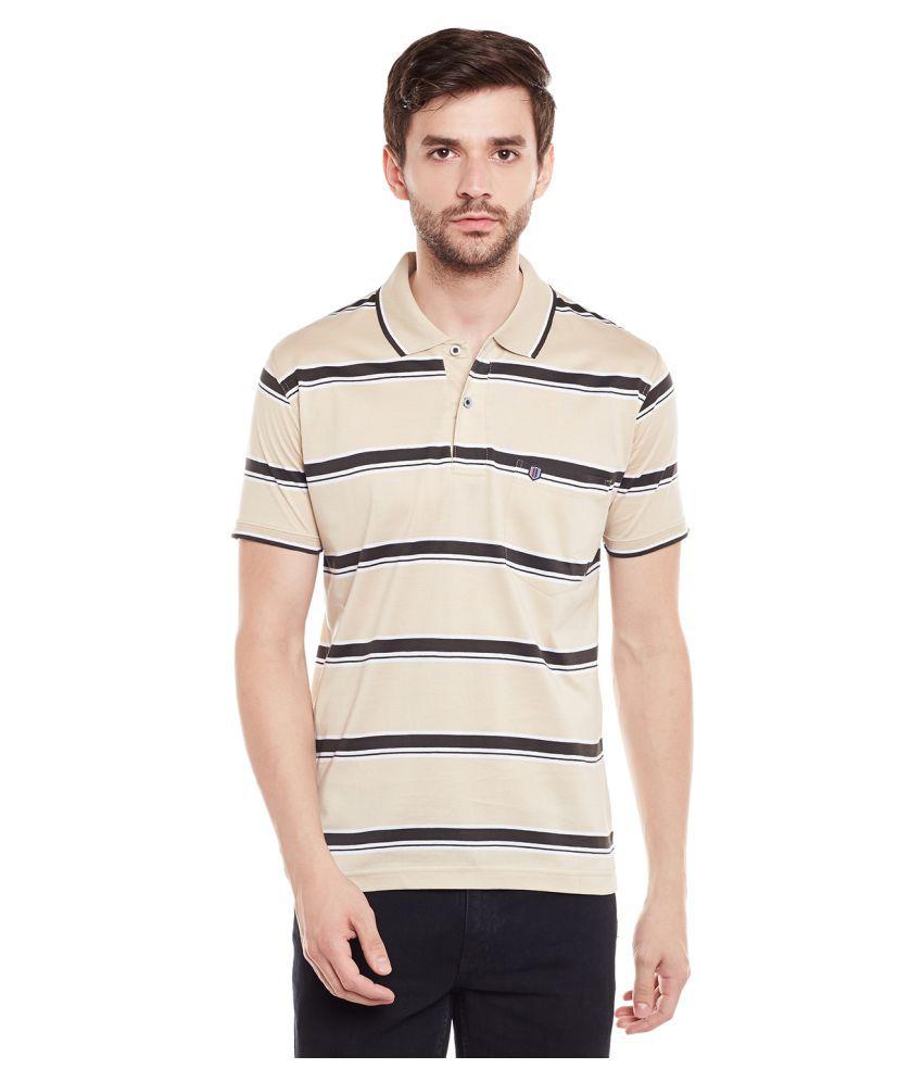 Duke Beige Round T-Shirt