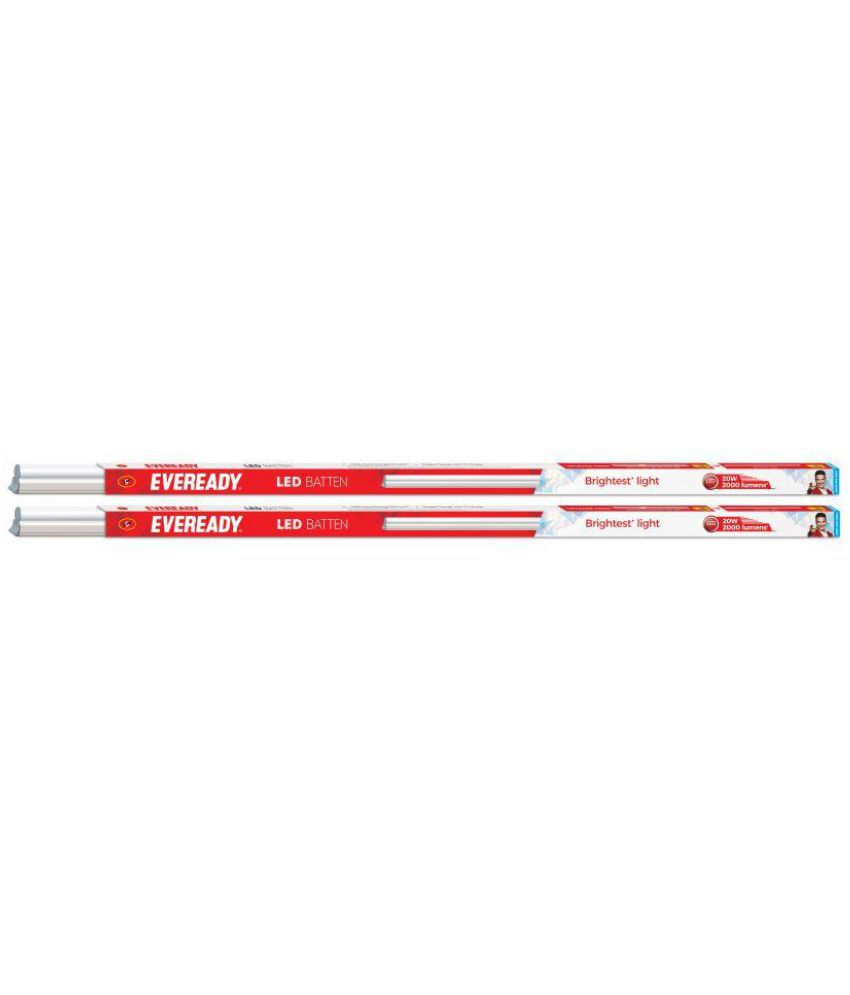 Eveready LED Batten Combo 20W (4 feet) Pack of 2