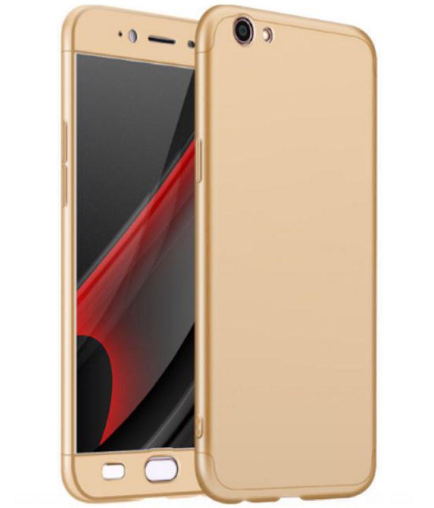 size 40 8fb38 06e23 VIVO V5S Plain Cases Tidel - Golden