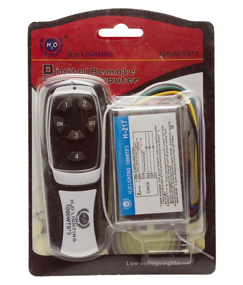 Buy 4 Way Remote Control Switch Wireless Rf Radio Basic 4way Wiring Electrical Online For Light Fan