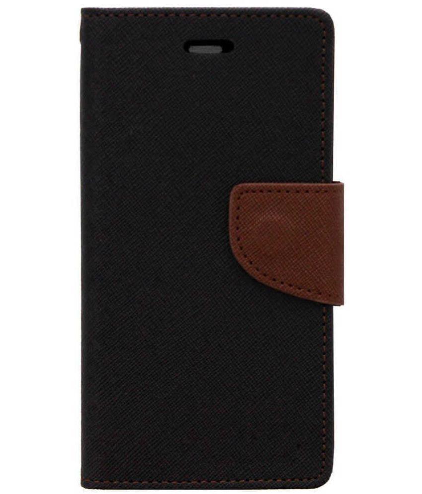 online retailer f1d77 6460a Xiaomi Redmi 5 Flip Cover by Zocardo - Black - Flip Covers Online at ...