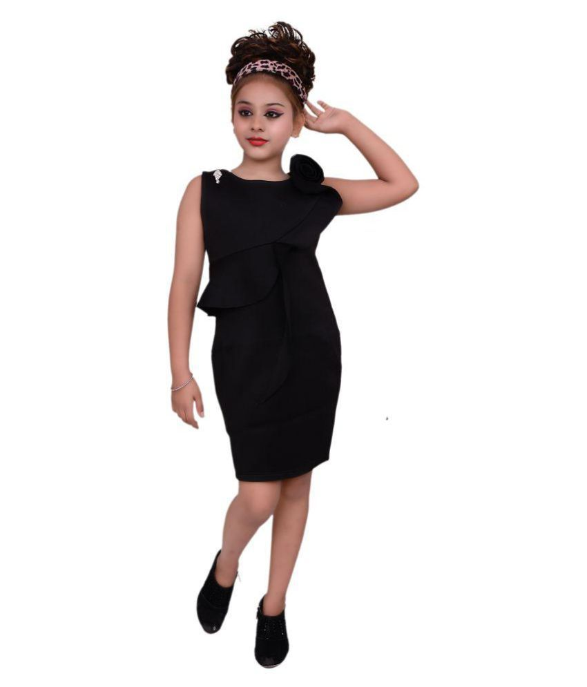 Gungun Creations Black Short Gown Party Wear Girl Dress Buy Gungun