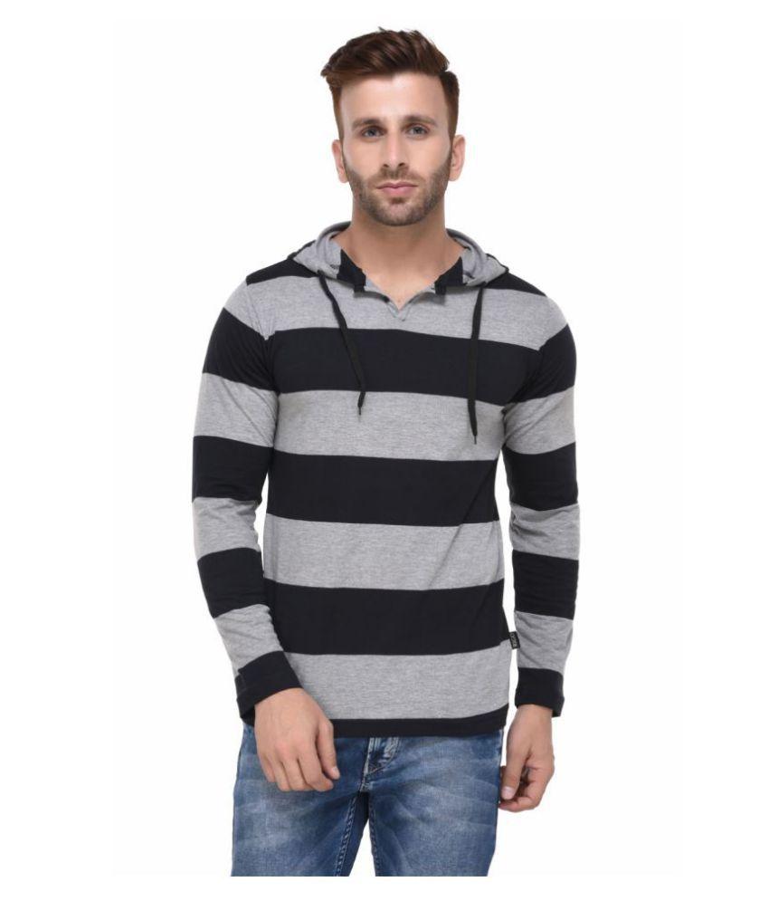 Rigo Black Hooded T-Shirt
