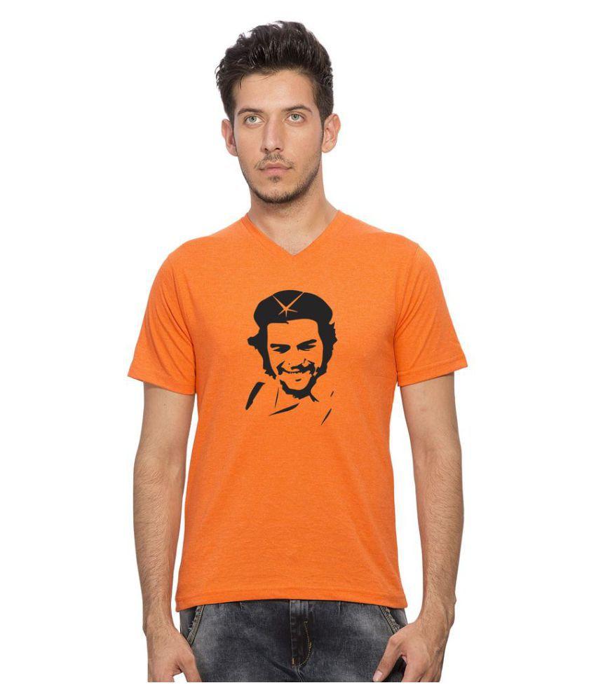 clifton Orange V-Neck T-Shirt