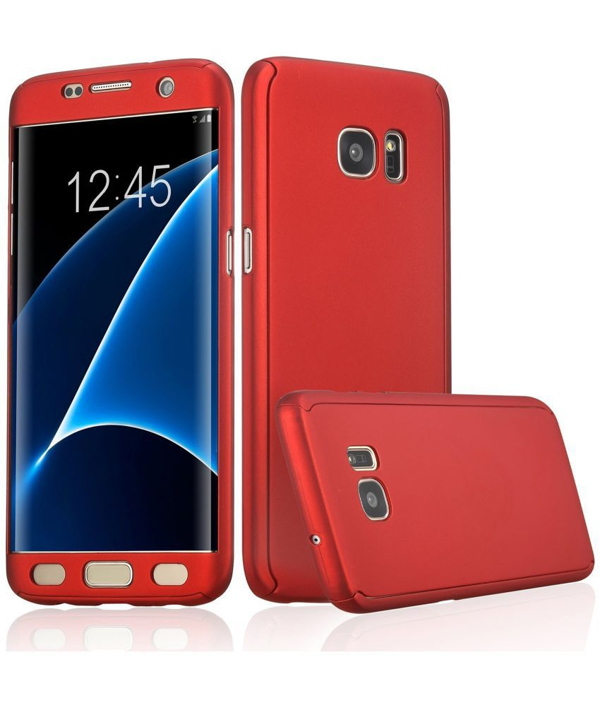 Samsung Galaxy C9 Pro Hybrid Covers IPAKY - Red
