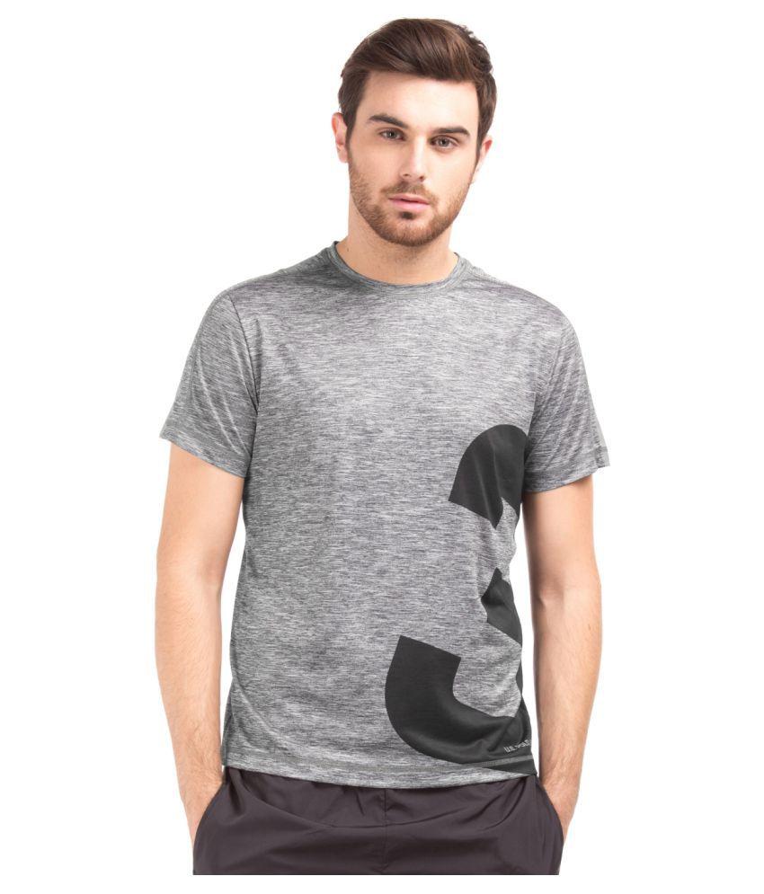 U.S. Polo Assn. Grey Round T-Shirt
