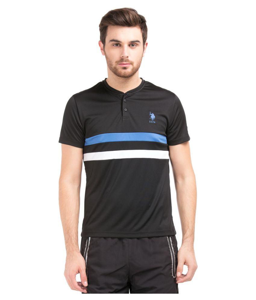 U.S. Polo Assn. Multi Henley T-Shirt
