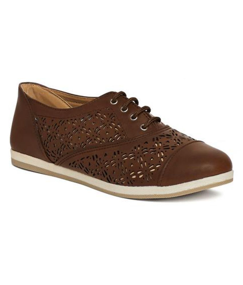 Marc Loire Brown Casual Shoes