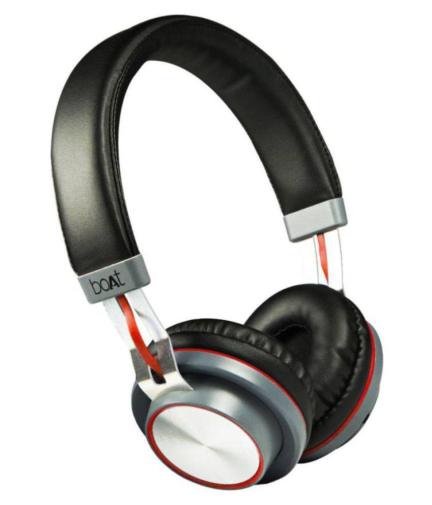 Boat Rockerz 390 Over Ear Headset With Mic Multicolour