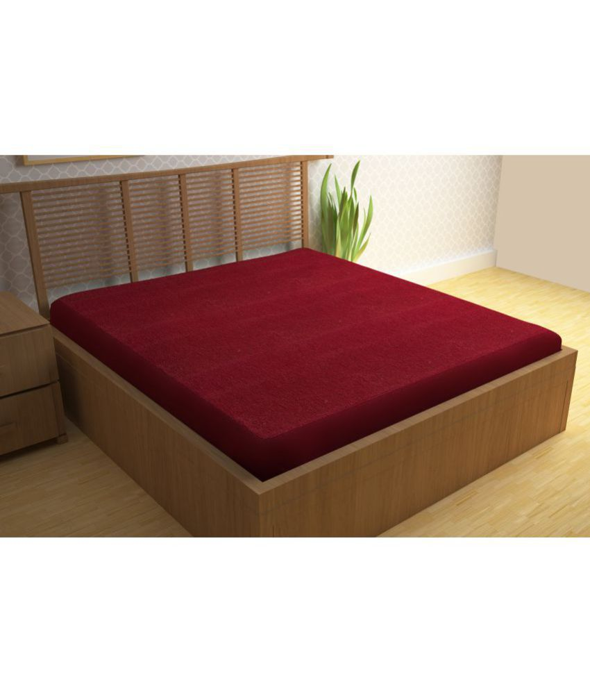 story home mattress protector maroon cotton mattress protector buy