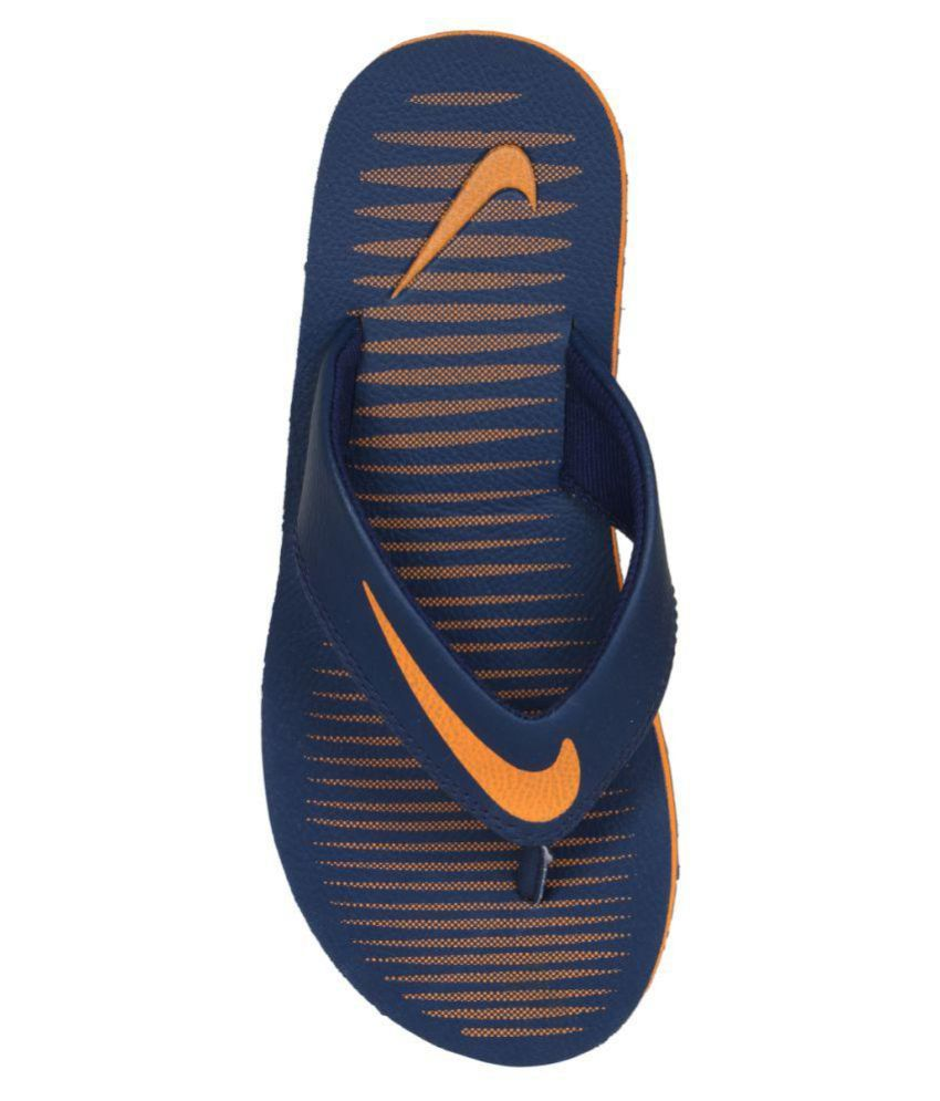 2a1f595060bb Nike Nike Chroma 5 Blue Thong Flip Flop Price in India- Buy Nike Nike  Chroma 5 Blue Thong Flip Flop Online at Snapdeal