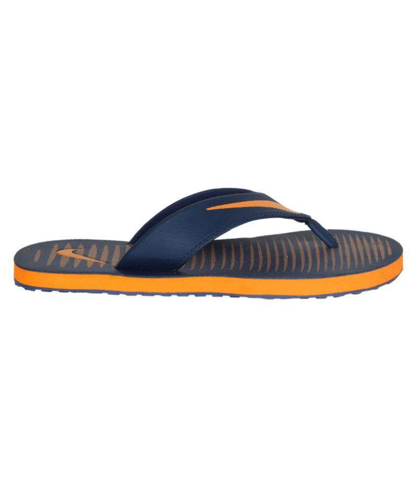 3fe08cb3 Nike Nike Chroma 5 Blue Thong Flip Flop Price in India- Buy Nike ...